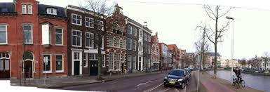 Panoramafoto straat Shambhala Haarlem
